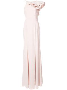 sleeveless ruffle dress Jay Godfrey