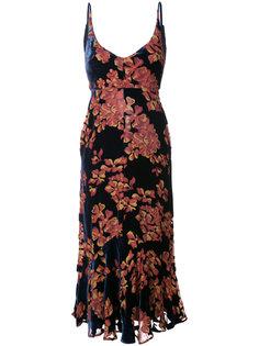 floral print dress Saloni