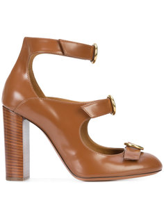 triple strap Mary-Jane pumps Chloé