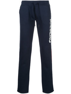 спортивные брюки с логотипом Iceberg