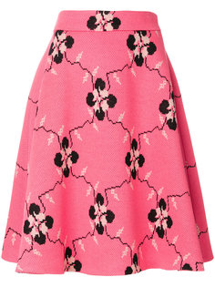 А-образная юбка с принтом  Miu Miu