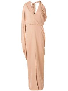 вечернее платье с одним рукавов Tom Ford