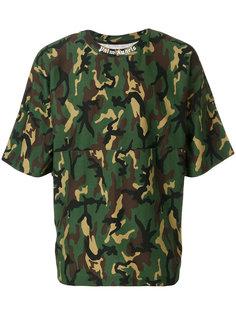 камуфляжная футболка Palm Angels