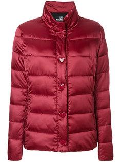куртка-пуховик Love Moschino