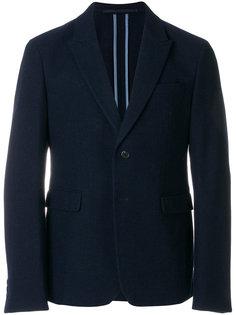 контрастный однобортный пиджак Prada