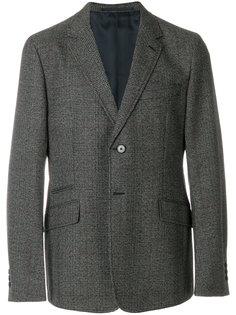 клетчатый однобортный пиджак Prada