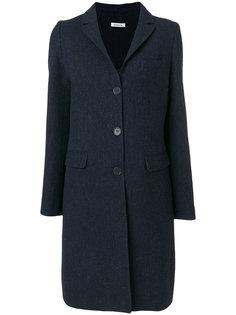 однобортное пальто P.A.R.O.S.H.