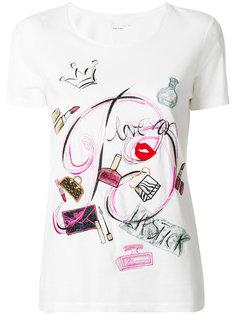 футболка с графическим принтом  Blumarine