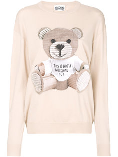 свитер тонкой вязки Toy Bear Moschino