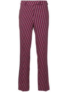 брюки с геометрическим принтом  Etro