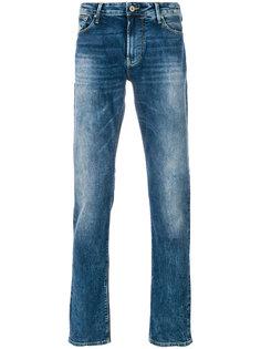 выбеленные джинсы Armani Jeans