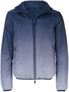 куртка на молнии с градиентным принтом Armani Jeans