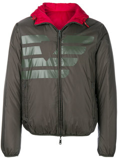 куртка на молнии с логотипом Armani Jeans