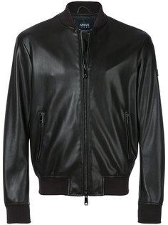 куртка кроя слим на молнии Armani Jeans