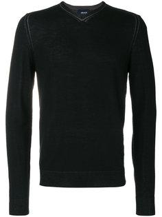 пуловер с V-образным вырезом Armani Jeans