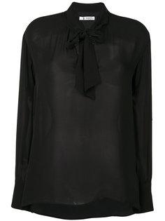 блузка с воротником с завязкой на мягкий бант Barena