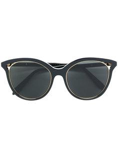"""солнцезащитные очки в оправе """"кошачий глаз"""" Victoria Beckham"""