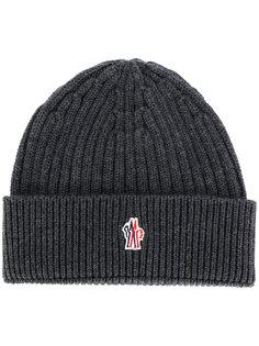 шапка в рубчик Moncler Grenoble
