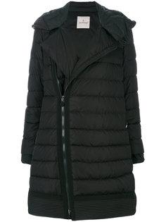 асимметричное дутое пальто  Moncler