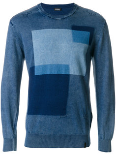 свитер с рисунком Diesel