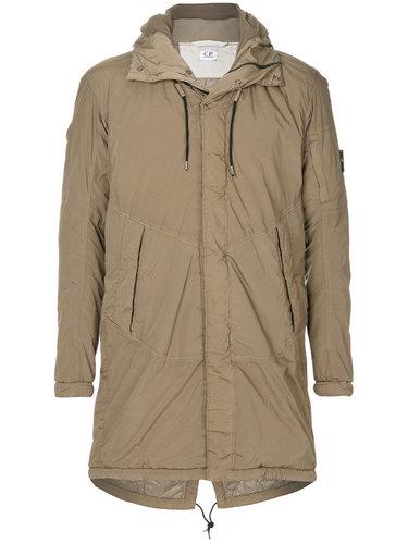 пальто с капюшоном CP Company