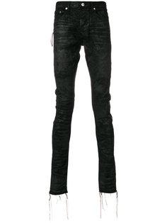 джинсы с бахромой Mr. Completely