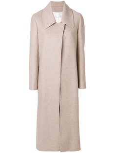 однобортное пальто  Victoria Beckham