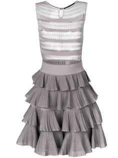 платье с оборками  Antonino Valenti