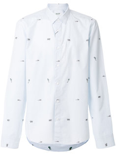 рубашка с пальмами Kenzo