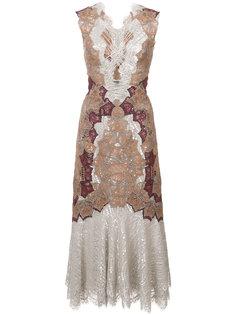 расклешенное платье  Jonathan Simkhai