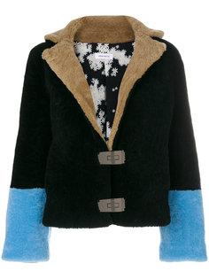 куртка с контрастными манжетами Saks Potts