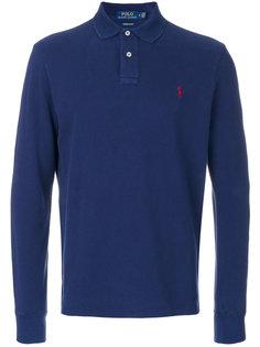 классическая рубашка-поло с длинными рукавами Polo Ralph Lauren