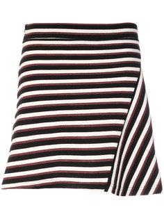 юбка в полоску  Maison Kitsuné