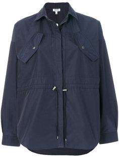 пальто со шнурком  Kenzo