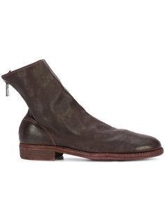 ботинки с поношенным эффектом Guidi