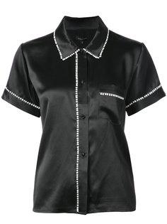 рубашка с помпонами Tami Morgan Lane