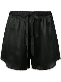 шорты с помпонами Bea Morgan Lane