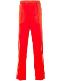 спортивные брюки с полоской с логотипом MSGM