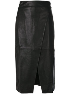 фактурная юбка с разрезом  Lamberto Losani