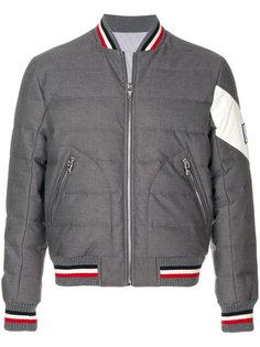 стеганая куртка-бомбер Moncler Gamme Bleu