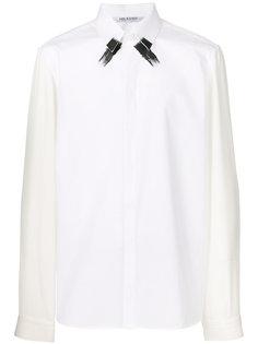 рубашка с декоративными мазками от кисти Neil Barrett