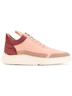 кроссовки на шнуровке с контрастной стойкой на каблуке Filling Pieces