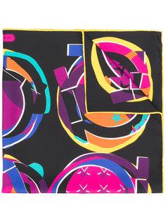 платок с принтом Salvatore Ferragamo