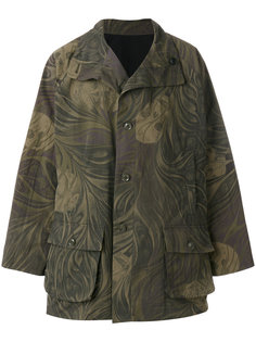 пальто с накладными карманами Yohji Yamamoto