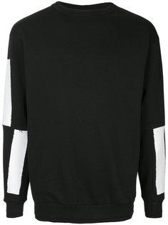 свитер Graphic Sleeves Icosae