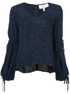 блузка с присборенными рукавами  Derek Lam 10 Crosby