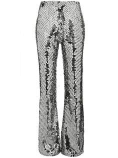 расклешенные брюки с пайетками Filles A Papa