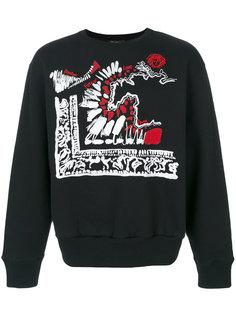 свитер с принтом Clan Versus