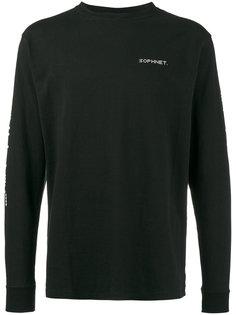 футболка с длинными рукавами с логотипом Sophnet.
