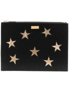 клатч с нашивками звезд Stella McCartney